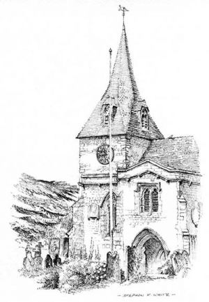 The Ancient Parish Church - East Farleigh