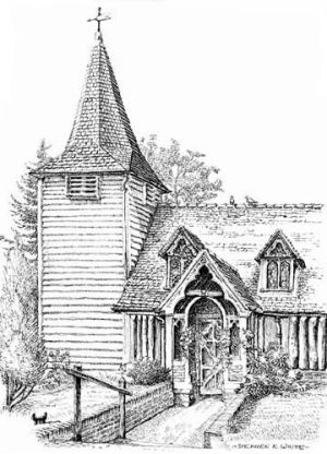 Greenstead Church - Ongar - Essex