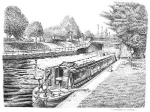 The Gregory Narrow Boat - River Ware - Herts