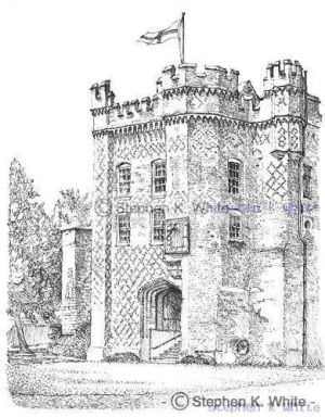 Farnham Castle - Foxes Tower,  Farnham, Hampshire