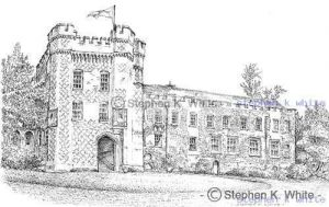Farnham Castle, South Entrance, Farnham, Hampshire