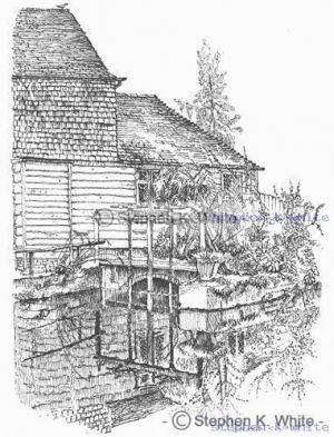 Watermill in Otford, Kent