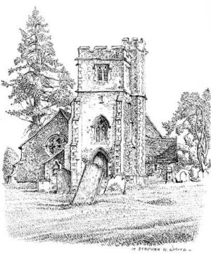 St Dunstans Church - Frinsted - Kent
