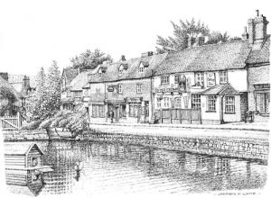 Across the Pond - Otford - Kent