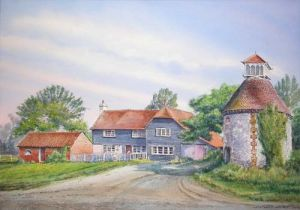 Dovecote Summer View - Horton Kirby
