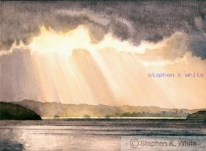 Sun Rays Over Windemere