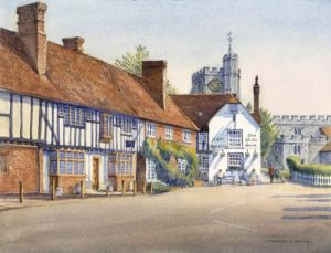 The White Horse Public House - Chilham - Kent - CT 8BY