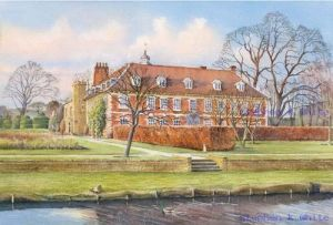 Hall Place from the River, Bexley Kent