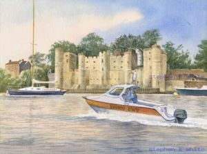 Upnor Castle on the Medway