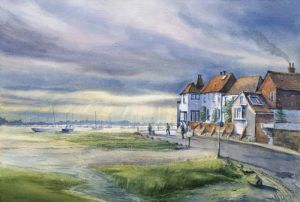 Evening Rays over Bosham - West Sussex