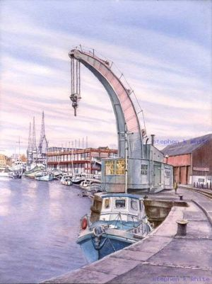 Bristol Steam Crane, Bristol Dock