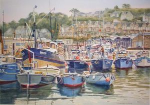 Brixham Harbour - Brixham Devon -