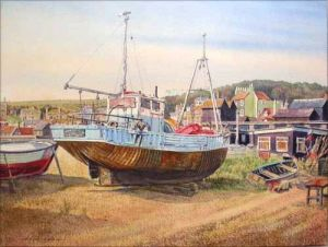 Hastings Boats - The Young Flying Fish - East Sussex