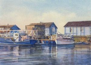 Moorings Opposite The Anchor and Hope - Charlton - London