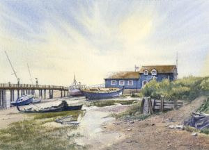 Early Morning - Rye Harbour -  Rye - Sussex