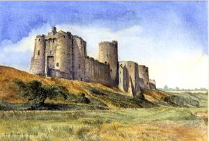 Kidwelly Castle - Carmathenshire South Wales