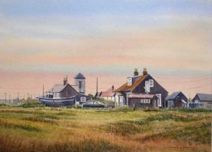 Dungeness - On the South Coast of Kent - Southern most part of the Romney Marsh