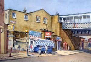 Fish Stall - Deptford High Street - London