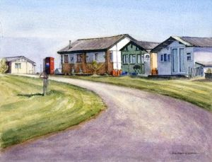Isle of Sheppy - Holiday Chalets (sheds) - Kent