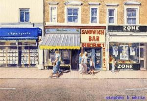 Snack Bar - High Street - Sidcup Kent