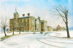 Charlton House in the Snow -  London